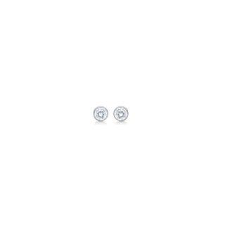 Mads Z sølv ørestikkere med zirkonier - 8117119
