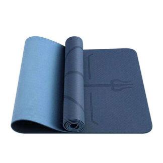 Odin Dual Blue TPE Yogamåtte 0,6cm