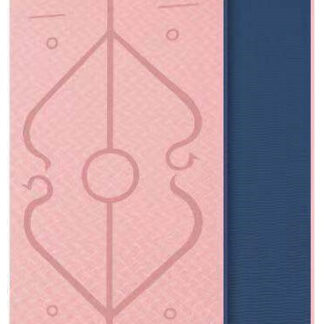Odin Dual Pink/Blue TPE Yogamåtte 0,6cm
