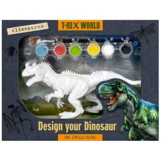 Spiegelburg mal din egen dinosaur - Allosaurus