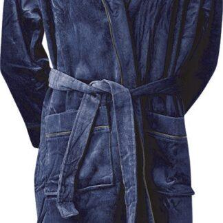 JBS bathrobe - M - NAVY