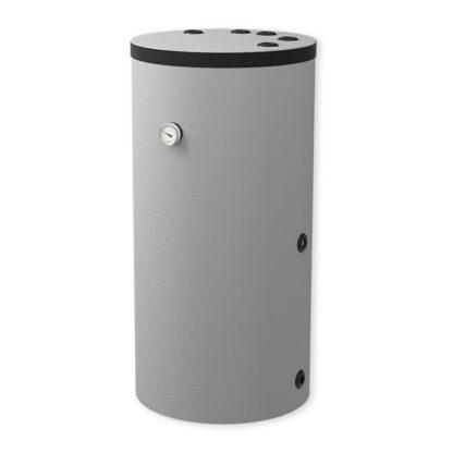 Varmtvandsbeholder - 200 L - Stor spiral - Til varmepumper